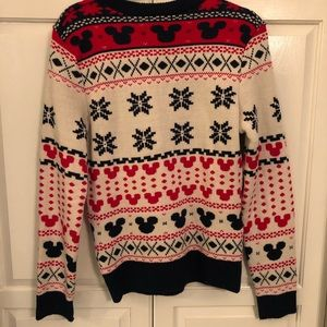 Mickey Christmas Sweater